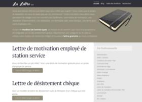La-lettre.com