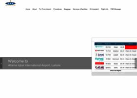 lahoreairport.com.pk