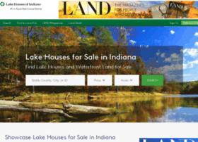 lakehousesofindiana.com