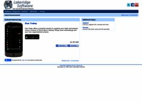 lakeridgesoftware.com