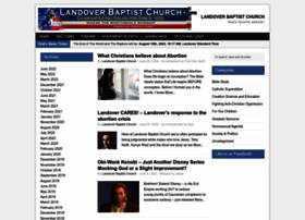 landoverbaptist.net