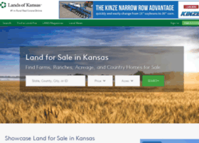 landsofkansas.com