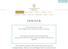 lansdowneclub.com