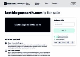 lastblogonearth.com