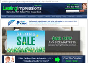 lastingimpressionsfoam.com