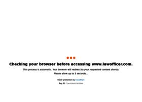 lawofficer.com