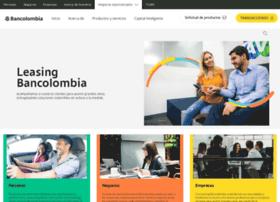 leasingbancolombia.com