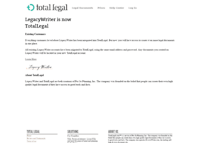 legacywriter.com