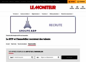 lemoniteur-emploi.com