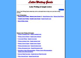 letterwritingguide.com
