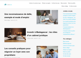 lettres-courriers-types.com