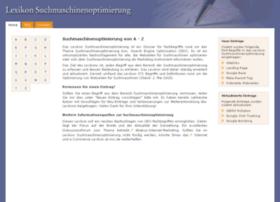 Lexikon-suchmaschinenoptimierung.de