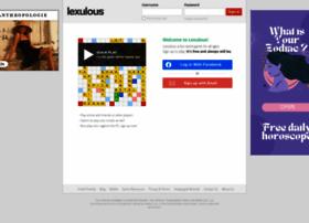 Lexulous.com