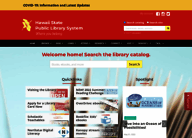Librarieshawaii.org