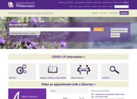 library.uww.edu