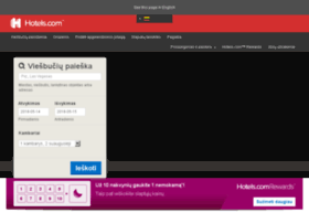 lietuva.hotels.com