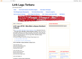 liriklagu-liriklagu.blogspot.com