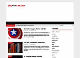 Listafterlist.com