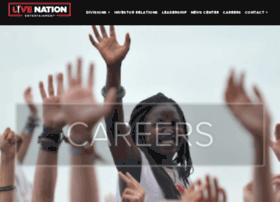 livenationcareers.com