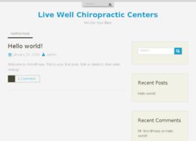 livewellchiropracticcenters.com