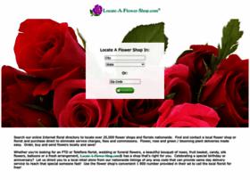 locateaflowershop.com