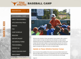 longhornbaseballcamp.com