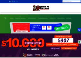 Loteriadeboyaca.gov.co