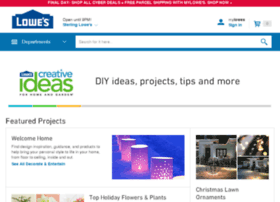 lowescreativeideas.com