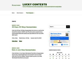 luckycontests.com
