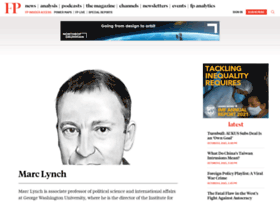 lynch.foreignpolicy.com