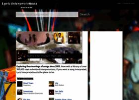 lyricinterpretations.com