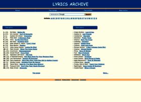 lyrics.dainutekstai.lt