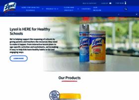 lysol.com