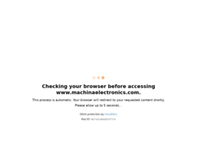 machinaelectronics.com