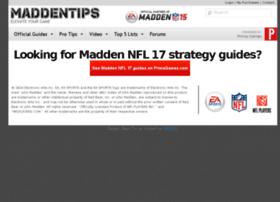 maddentips.com