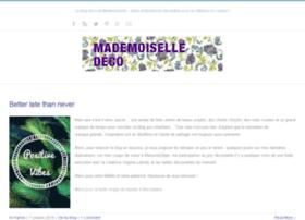 mademoiselledeco.com