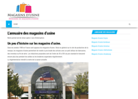 magasins-usine.info