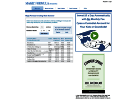 magicformulainvesting.com