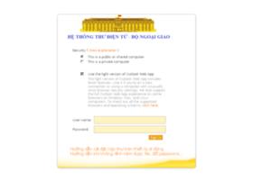 Mail.mofa.gov.vn