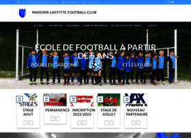 maisons-laffitte-football.com