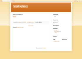 Makeleio.blogspot.com