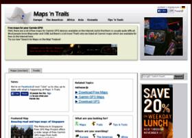 mapsntrails.com