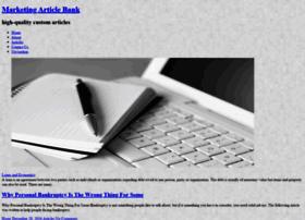 marketingarticlebank.com