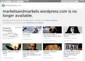 Marketsandmarkets.wordpress.com