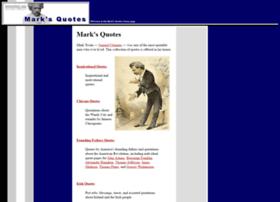 marksquotes.com
