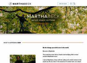 marthabeck.com