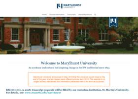 marylhurst.edu