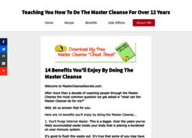 mastercleansesecrets.com