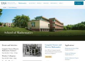 math.ias.edu