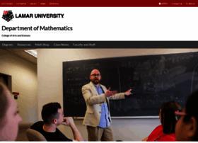 math.lamar.edu